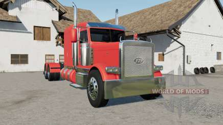 Peterbilt 379 new fuel tanks pour Farming Simulator 2017