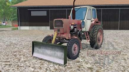 YUMZ-6 mit einer Klinge für Farming Simulator 2015