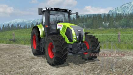 Claas Axion 820 suspension axis wheel steering für Farming Simulator 2013