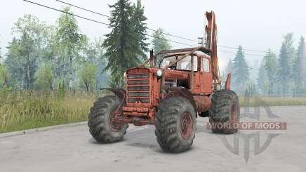 DT-75 Rad für Spin Tires