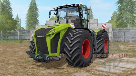 Claas Xerion 5000 Trac VC dual wheels für Farming Simulator 2017