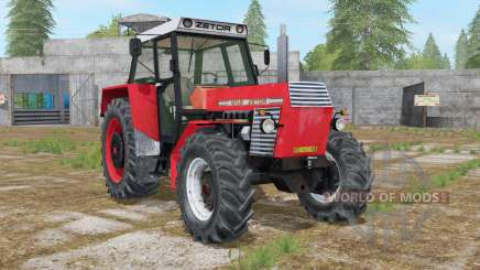 Zetor 12045 coral red für Farming Simulator 2017