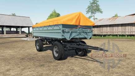 Fortschritt HW 80 Nokian tire pour Farming Simulator 2017