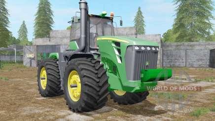 John Deere 9630 wheel configurations pour Farming Simulator 2017