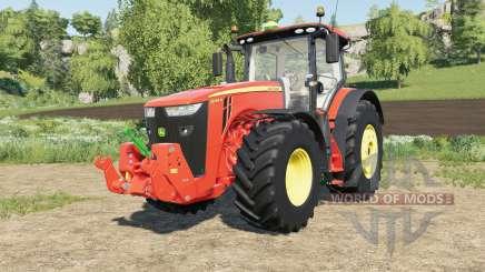 John Deere 8R-series multicolor pour Farming Simulator 2017