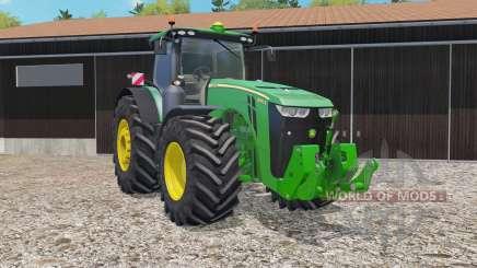 John Deere 8370R animated joystick für Farming Simulator 2015