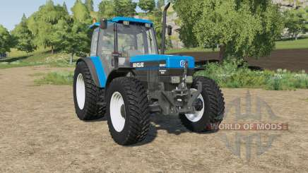 New Holland 8340 wheels selection pour Farming Simulator 2017