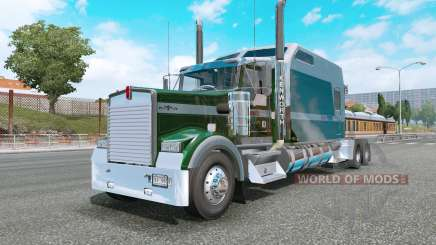 Kenworth W900L county green pour Euro Truck Simulator 2