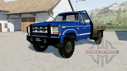 Ford F-150 1983 flatbed pour Farming Simulator 2017
