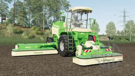 Krone BiG M 450 added Michelin and Mitas tires pour Farming Simulator 2017