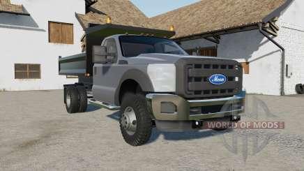 Ford F-550 dump für Farming Simulator 2017