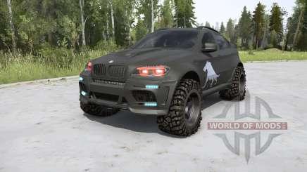 BMW X6 M (E71) BORZ v2.0 pour MudRunner