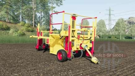 Damcon PL-75 sixty tree saplings pallets für Farming Simulator 2017