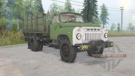 GAZ-53A-NIIAT-05 für Spin Tires