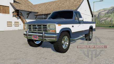 Ford F-150 Regular Cab 1985 pour Farming Simulator 2017