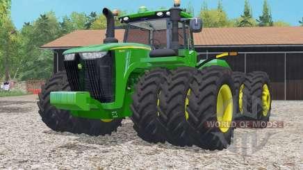 John Deere 9620R islamic green pour Farming Simulator 2015