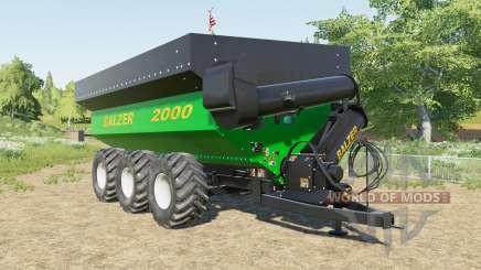 Balzer 2000 Trideᶆ für Farming Simulator 2017