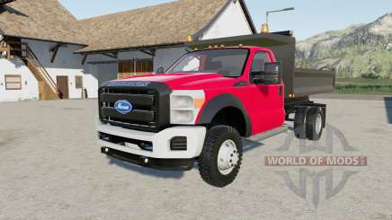 Ford F-550 Super Duty dump truck pour Farming Simulator 2017