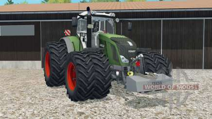 Fendt 828 Vario moveable rear attacher pour Farming Simulator 2015