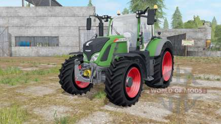 Fendt 700 Vario with Mitas Pneumatic pour Farming Simulator 2017