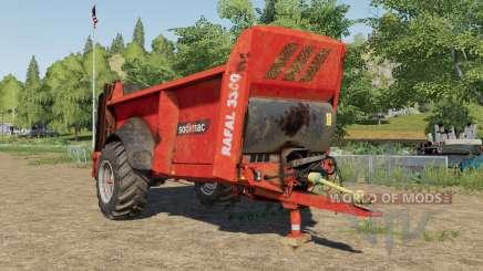 Sodimac Rafal 3300 design selection für Farming Simulator 2017