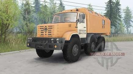 ZIL-4972 soft-orange für Spin Tires
