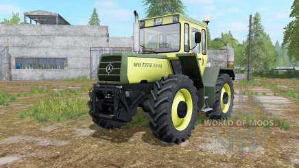 Mercedes-Benz Trac 1000 glade green für Farming Simulator 2017