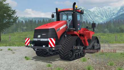 Case IH Steiger 600 Quadtrac license plate pour Farming Simulator 2013