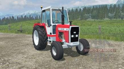 Massey Ferguson 690-front loadeɽ für Farming Simulator 2013