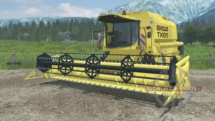 New Holland TX65 dynamic exhaust für Farming Simulator 2013
