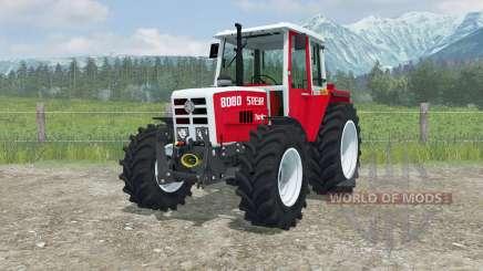 Steyr 8080 Turbo MoreRealistic für Farming Simulator 2013