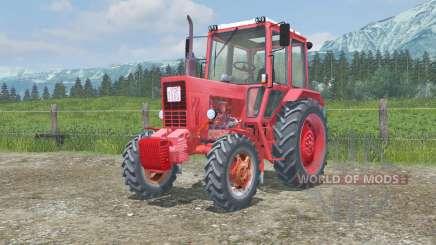 MTZ-82 Belarus animierte Pedale für Farming Simulator 2013