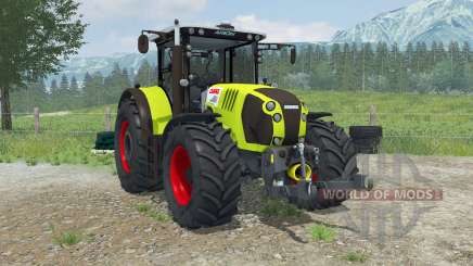Claas Arion 620 animé interioᶉ pour Farming Simulator 2013