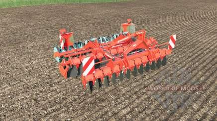 Kverneland Qualidisc Farmer 3000 meadow roller pour Farming Simulator 2017