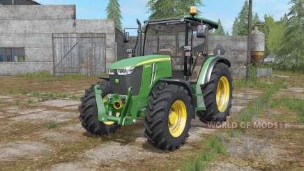 John Deere 5085M configuration wheels für Farming Simulator 2017