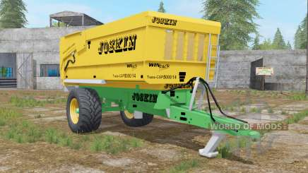 Joskin Trans-Cap 5000-14 golden dream pour Farming Simulator 2017