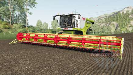 Claas Lexique 780 rio granᶁᶒ pour Farming Simulator 2017