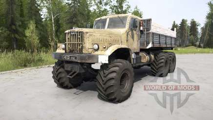 KrAZ-255 für MudRunner