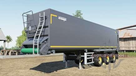 Krampe SB II 30-1070 capacity 150.000 liters pour Farming Simulator 2017