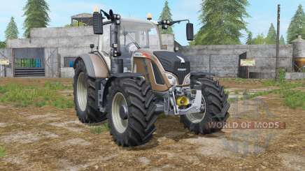 Fendt 700 Vario added tires pour Farming Simulator 2017