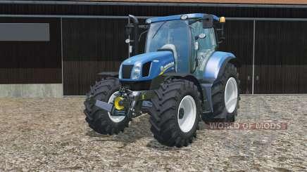 New Holland T6.160 no brackets für Farming Simulator 2015