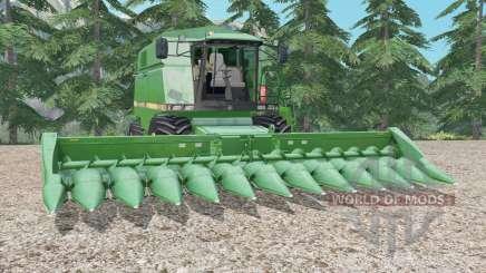 John Deere 2056 medium sea green pour Farming Simulator 2015