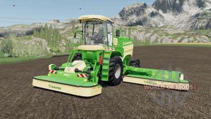 Krone BiG M 450 more horsepower pour Farming Simulator 2017