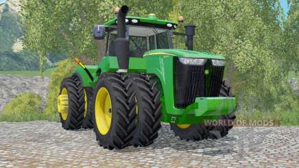 John Deere 9370R row crop pour Farming Simulator 2015