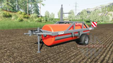 Duvelsdorf Green Roller Vario colour choice pour Farming Simulator 2017