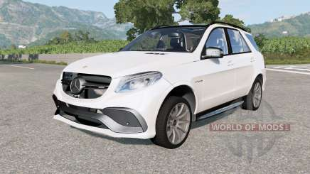 Mercedes-AMG GLE 63 S (W166) 2015 pour BeamNG Drive