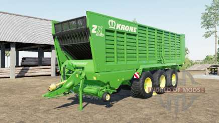 Krone ZX 560 GD capacity 100.000 liters pour Farming Simulator 2017