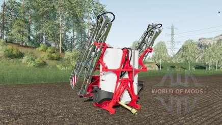 Kuhn Deltis 1302 MTA3 work speed 17 km-h für Farming Simulator 2017