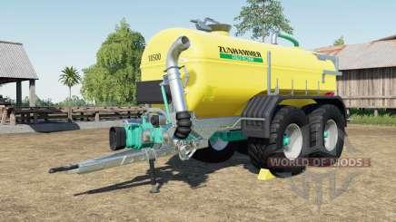 Zunhammer SKE 18.5 PUD with more tire configs pour Farming Simulator 2017