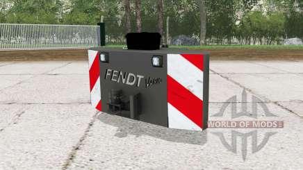 Fendt weight with working lights für Farming Simulator 2015